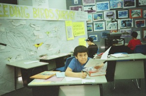 This is Fred in my 3rd grade classroom in 1996