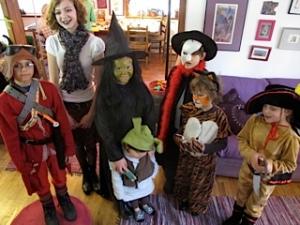Halloween Grandchildren 2011